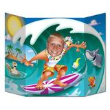 The Beistle Company Surfer Dude Scene Setter in Brown/Green | Wayfair 57998