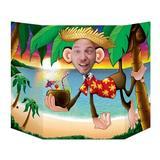 The Beistle Company Monkey Scene Setter in Blue/Brown/Green | Wayfair 57970