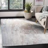17 Stories Massad Abstract Blue Area Rug Polyester in Blue/Brown, Size 90.0 H x 61.0 W x 0.31 D in   Wayfair TRNT3163 42726755