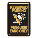 Team Pro-Mark NHL Plastic Parking Sign Plastic, Size 18.0 H x 12.0 W x 0.01 D in | Wayfair 80250