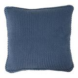 """Darzzi Harmony 100% Cotton 20"""" Throw Pillow Polyester/Polyfill/Cotton in Blue, Size 20.0 H x 20.0 W in 