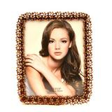 Winston Porter Antique-inspired Glided Metal Single Picture Frame Metal in Brown, Size 10.0 H x 8.0 W x 0.5 D in | Wayfair WNPR2087 39198996