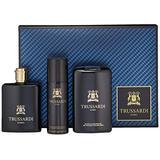 Trussardi   Uomo   Eau de Toilette, Shampoo - Shower Gel and Deodorant Spray   3 Piece Gift Set for Men   Leather Scent   EDT Spray 3.4 oz / Shampoo - Shower Gel 6.8 oz oz / Deodorant Spray 3.4 oz