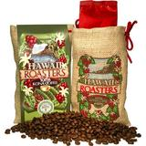 Hawaii Roasters 100% Kona Coffee, Medium Roast, Whole Bean, 7-Ounce Bag