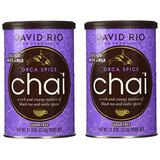 2 canisters of Orca Spice Sugar-Free Chai, 11.9oz.