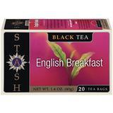 Stash Tea English Breakfast Tea, 20 Count (Pack of 6)