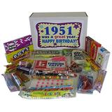 Woodstock Candy 1951 67th Birthday Gift Box of Nostalgic Candy from Childhood Jr