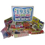 82nd Birthday Gift Box of Nostalgic Retro Candy from Childhood for an 82 Year Old Man or Woman Born in 1935