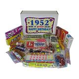 1952 65th Birthday Gift Box of Retro Nostalgic Candy for a 65 Year Old Man or Woman Born in the '50s Jr