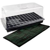 Jump Start CK64060 Heat Mat, Tray, 72 Cell Insert Hot House, Black