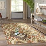 """Momeni Rugs Tangier Collection 100% Wool Hand Tufted Tip Sheared Transitional Area Rug, 8'0"""" x 11'0"""", GOLD"""