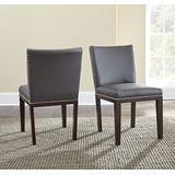 Steve Silver Company Tiffany Side Chairs, Gray