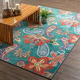 Mohawk Home Whinston Paisley Floral Area Rug, 6'x9', Multi