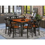 9 Pc counter height pub set-pub Table and 8 Dining Chairs.