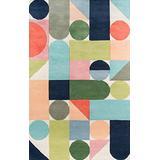 """Novogratz Delmar Collection Wright Area Rug, 8'0"""" x 10'0"""", Multicolor"""