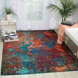 """Nourison Celestial Modern Bohemian Atlantic Multicolored Area Rug 3 Feet 11 Inches by 5 Feet 11 Inches, 3'11"""" x 5'11"""""""