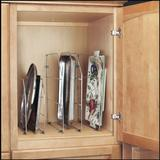 Rev-a-Shelf Rev-a-Shelf Tray Divider with Clips, White, Metal, 12 in.