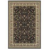 Oriental Weavers Kashan Area Rug, 7' x 9', Black Gold