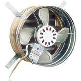 Broan-NuTone 35316 Galvanized Steel Gable Mount Attic Ventilator, 1600 CFM
