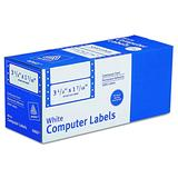 "Avery Dot Matrix Printer White Addressing Labels, 3-1/2"" x 1-7/16"", 1 Across, 5000/Box (4060)"