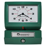 Acroprint Model 150AR3 Heavy Duty Automatic Time Recorder, prints Day of the Week, Hour (1-12) and Minutes Time Clock