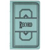 Boorum & Pease 66 Series Account Books, Record Ruling, 300 Pages, 12-1/8ʺ x 7-5/8ʺ, Blue (66-300-R)