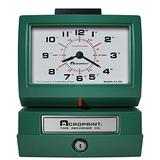 Acroprint 125ER3 Heavy Duty Manual Time Recorder for Day of The Week and Hour (0-23) and Hundredths Time Clock