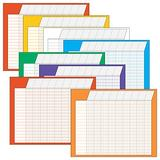 Trend Horizontal Variety Incentive Charts (TEPT73902),Blue;Deep Pink;Green;Orange;Purple;Red;White;Yellow