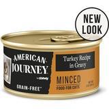 American Journey Minced Turkey Recipe in Gravy Grain-Free Canned Cat Food, 3-oz, case of 24