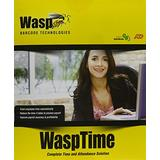 Informatics Inc 633808550004 Wasptime Basic Barcode Wasptime Software and Time Clock
