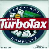 Quicken TurboTax {Federal Return Tax Year 1998}
