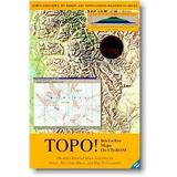 TOPO! Interactive Topographic Maps on CD-ROM for North Cascades, Mt. Baker, and Surrounding Wilderness Areas (PC) (Computer Software)