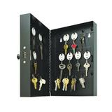 "STEELMASTER 28-Key Steel Security Key Cabinet Combination Locking Key Cabinet, 3.5""L x 11.6""W x 7.9"" H (201202804)"