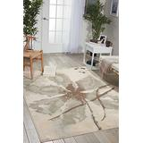 """Nourison Euphoria Rustic Vintage Floral Botanical Ivory Area Rug 3 Feet 11 Inches by 5 Feet 11 Inches, 3'11"""" x 5'11"""""""