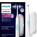 Philips Sonicare HX6857/11 ProtectiveClean 5100 Rechargeable Electric Toothbrush, White