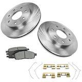 Front Premium Posi Metallic Brake Pad & Rotor Kit 7 Lug for Ford F150 Pickup