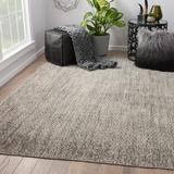 Union Rustic Magnuson Hand Knotted Wool Brown Area Rug Wool in White, Size 36.0 H x 24.0 W x 0.25 D in | Wayfair 5C944869DBB74774B214EFFC96D2C62C