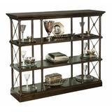 "Bernhardt Sutton House 51"" H x 65"" W Etagere Bookcase Wood in Brown, Size 51.0 H x 65.0 W x 17.5 D in   Wayfair 367814"