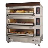 Turbo Air RBDO-33 European Triple Deck Pizza Oven, 220v/3ph