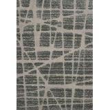 """Loloi ENCOEN-29MLGY Indoor Area Rugs, 7'-7"""" X 7'-7"""" Square, MultiGray"""