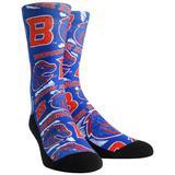 Boise State Broncos Rock Em Socks Youth Logo Sketch Crew