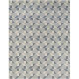 Surya Geometric Hand Tufted Wool/Cotton Light Area Rug Wool/Cotton in Gray, Size 96.0 W in   Wayfair RVT5015-810