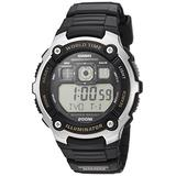 Casio Men's Classic Quartz Watch with Resin Strap, Black, 24 (Model: AE-2000W-9AVCF)