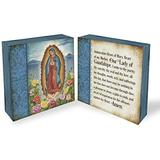 Cathedral Art, Multicolor Lady of Guadalupe Prayer Block