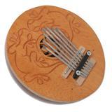 Coconut shell kalimba thumb piano, 'Gecko Melody'