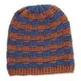 Alpaca blend hat, 'Elegant Mix'