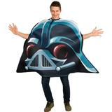Angry Birds Star Wars Darth Vader Adult Costume, Blue, One Size