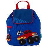 Stephen Joseph Quilted Backpack, Monster Truck