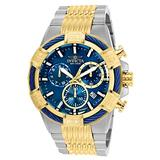 Invicta Men's Bolt Quartz Stainless-Steel Strap, Two Tone, 30 Casual Watch (Model: 25865)