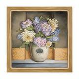 Fresh Flowers by Lisa Audit, 24x24-Inch